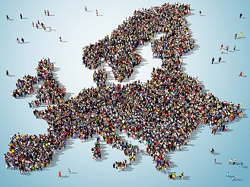 Which European country gives permanent residency easily?