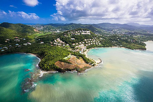 50% price drop Saint Lucia citizenship bond option